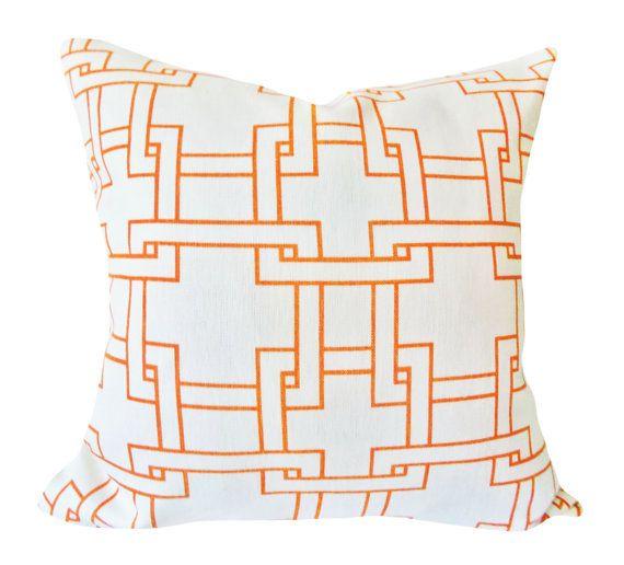this thom filicia citysquare terratone decorative pillow cover for kravet is a sensational modern