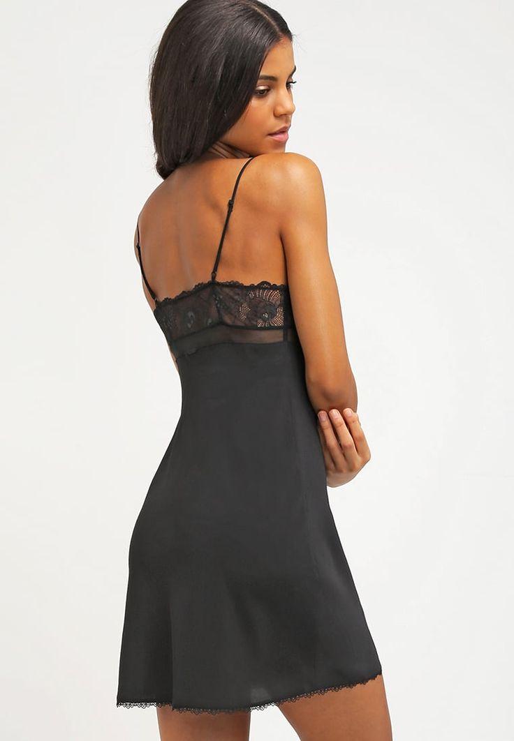 Calvin Klein Underwear CK BLACK - Koszula nocna - black za 349 zł (31.08.16)…
