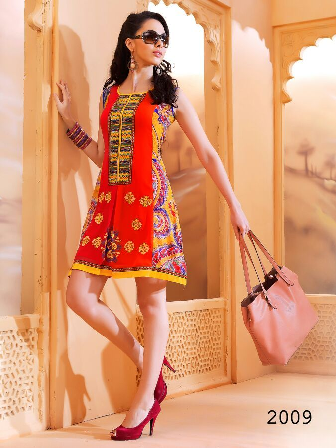 Short Designer Kurti | Exclusive Ladies Tunics