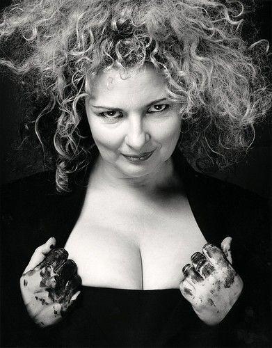 Artist Marlene Dumas - recently awarded the Dutch state prize for the arts, the Johannes Vermeer Award, 2012.
