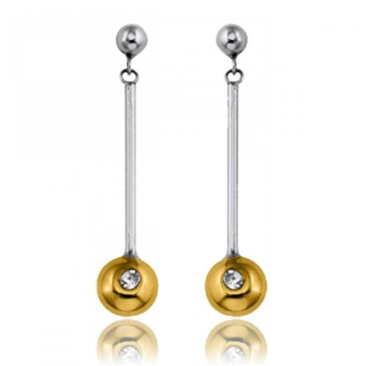 Cristal blanc Earrings - Xc38