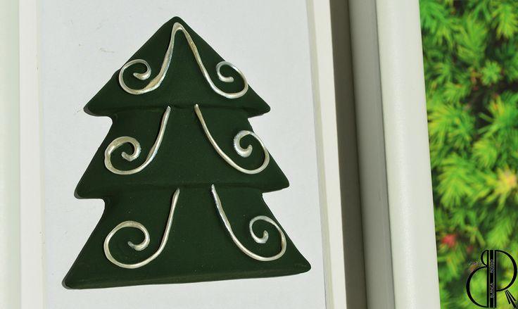 This Christmas hanging ornament can be used for decorating: the Christmas tree, a wall, a frame ~HANDMADE~