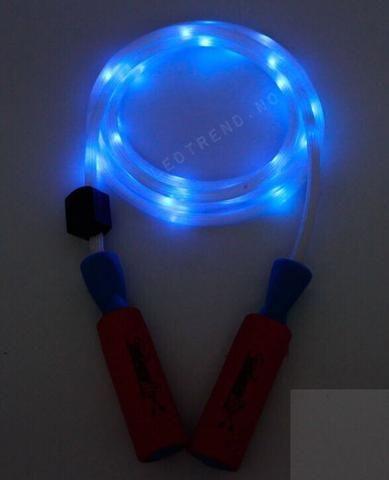 Hoppetau med LED-lys   Hoppetau til morsom trening.