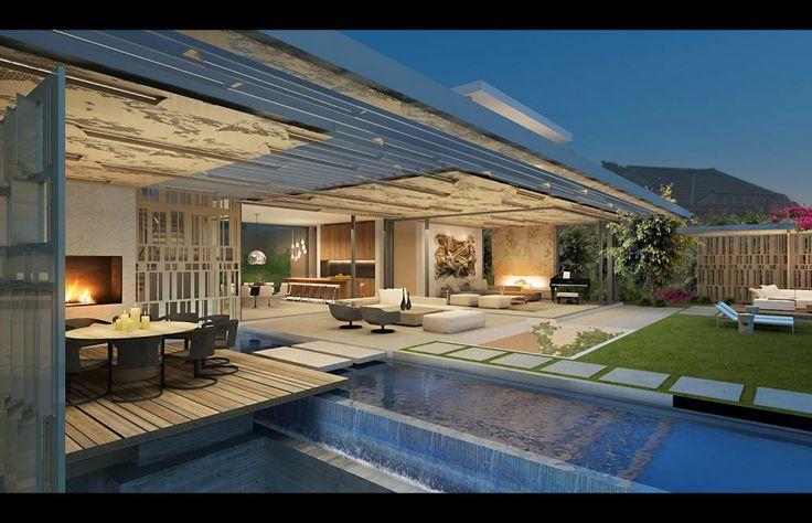 57 best h o m e images on pinterest dreams modern homes for Ultra modern house designs australia