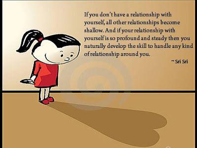Quotes on Relationship by Sri Sri Ravi Shankar