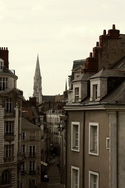 Nantes, France Nantes me manque beaucoup
