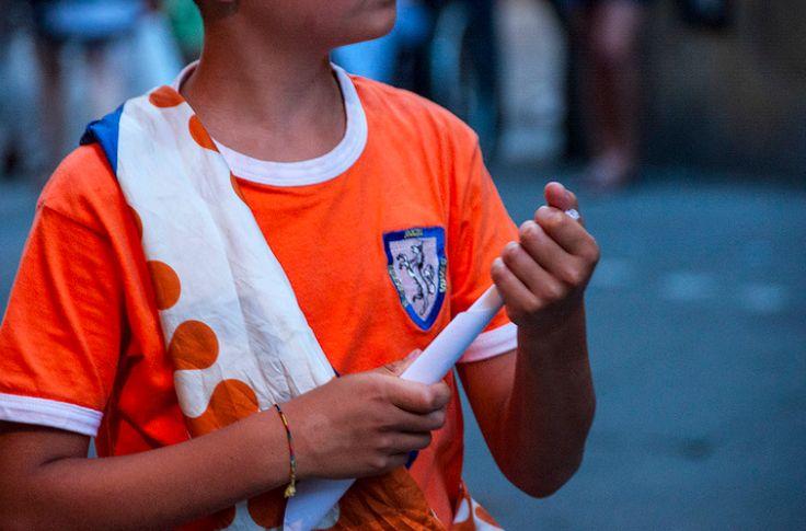 a Leocorno supporter t shirt