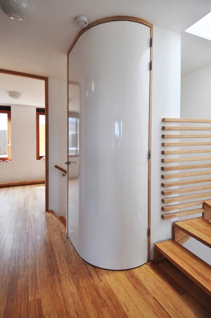 Curved Door - New Townhouses in Leiden by 24H \u003e Architecture & 33 best Curved \u0026 Radius Doors \u0026 Windows images on Pinterest ... Pezcame.Com