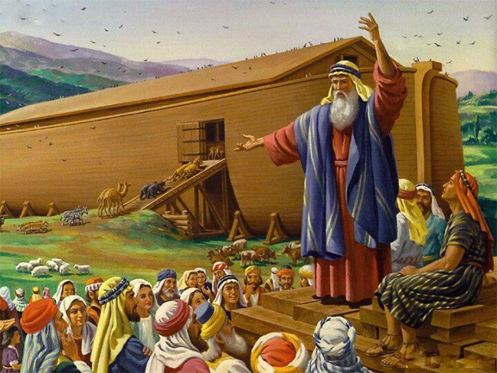 Noah listened and walked with God. He tried so hard to save people ...