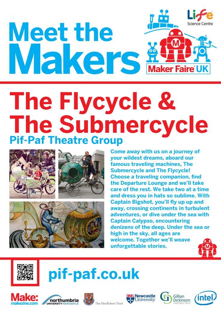 Pif-Paf Theatre at Maker Faire UK 2014