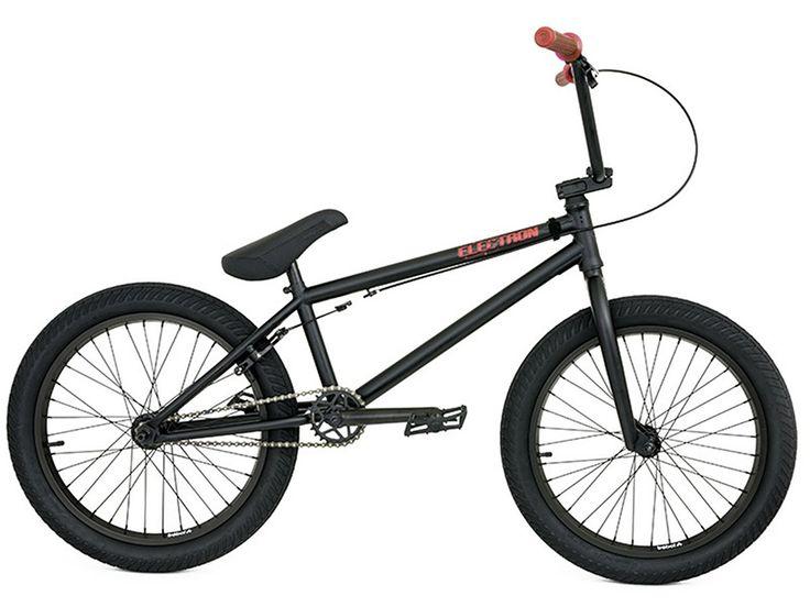 "Flybikes ""Electron"" 2017 BMX Bike - Flat Black | RHD | kunstform BMX Shop & Mailorder - worldwide shipping"