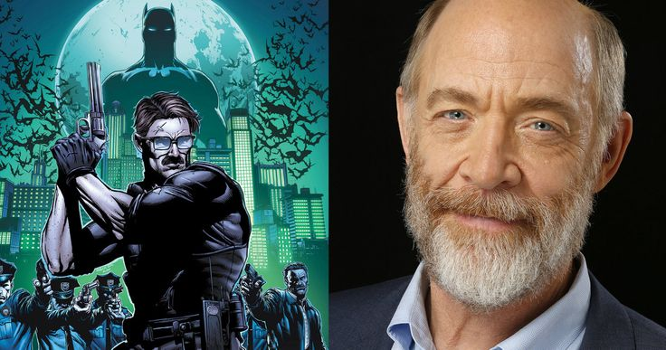 J.K. Simmons Is Commissioner Gordon in 'Justice League' -- J.K. Simmons is set to take on the role of Gotham City's most trusted policeman in 'Justice League Part 1', shooting this April. -- http://movieweb.com/justice-league-part-1-movie-cast-jk-simmons-commissioner-gordon/
