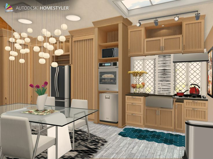 """Check out my #interiordesign """"Kitchen"""" from #Homestyler http://autode.sk/1dcv97G"""
