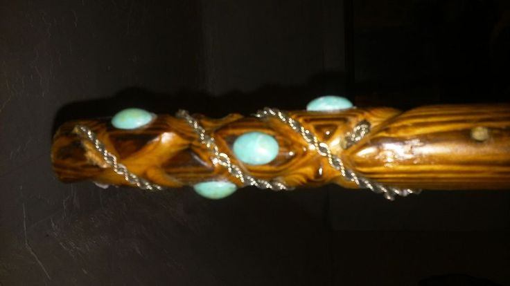 One of a kind. Unique hand carved walking stick #GIndustries