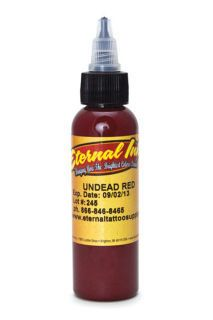 Eternal tattoo ink Undead Red color supply in india mumbai : Eternal tattoo ink Undead Red color supply in india mumbai | zaheerhamidbatli
