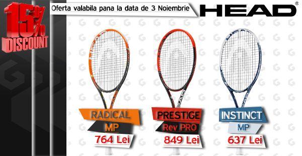 Sarbatorim victoriile jucatorilor Head, Andy Murray la Viena, Marin Clic la Moscova si Tomas Berdych la Stockholm!  15% DISCOUNT! Ofera valabila pana pe 03.11.2014! http://www.tenisshop.ro/Promotii.html