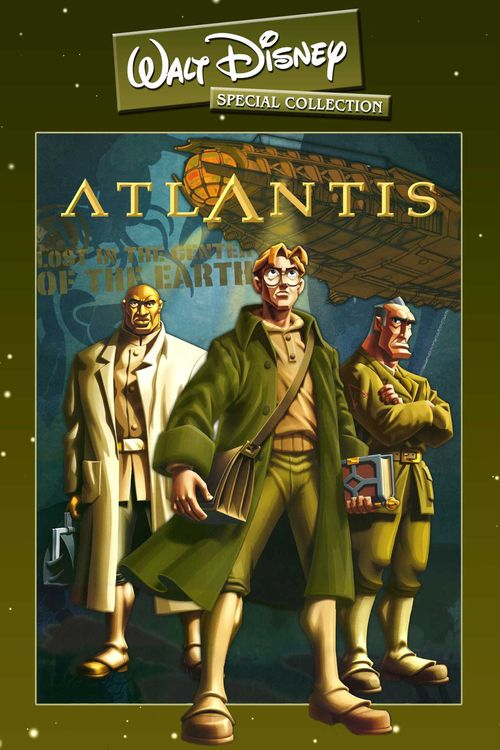 Watch Atlantis: The Lost Empire (2001) Full Movie Online Free
