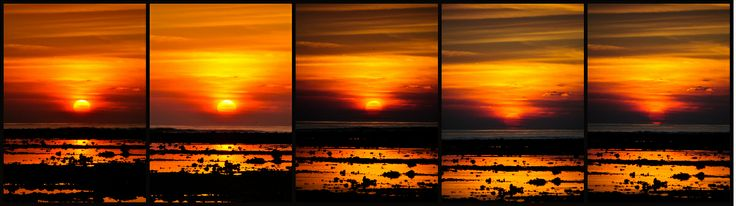 Gili Island ,Indonesia Sunset