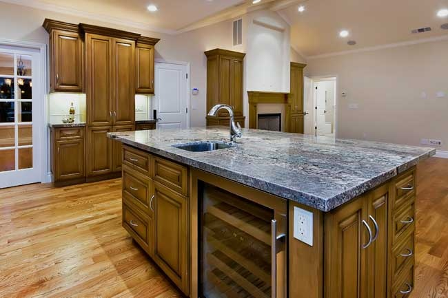 Wine Cooler In Kitchen Island Kitchen Islands