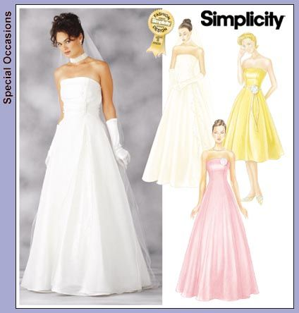 Modern Bridal Sewing Patterns Uk Photo - Knitting Pattern Ideas ...