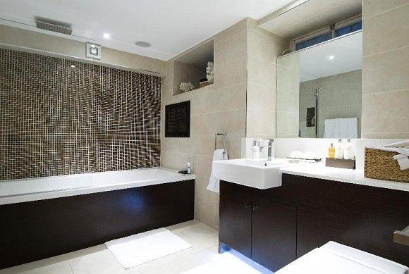Bathroom basement flat London W2 #cutlerandbond #basementflat #gardenflat #londonproperty