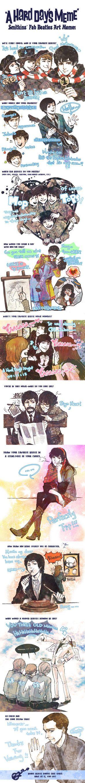 Beatles meme by fionafu0402 on DeviantArt