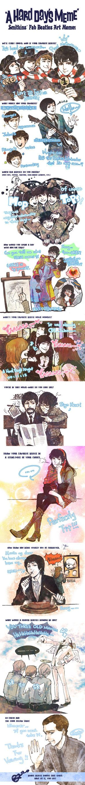 Beatles meme by fionafu0402 on DeviantArt