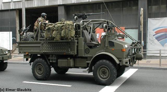 Long Range Patrol Vehicle Unimog PatSAS (Be)