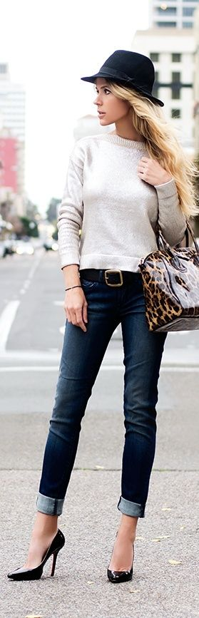 Chic Street Style for work, going out to dinner with family/friends or