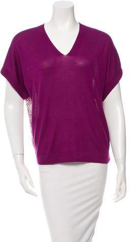 Derek Lam Cashmere V-Neck Sweater