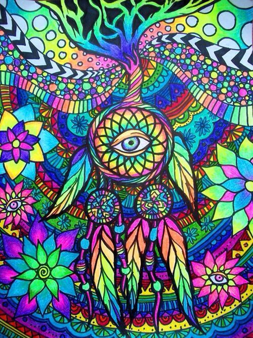 17 Best images about DIBUJOS PSICODELICOS on Pinterest | Hippy art ...