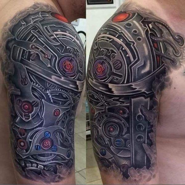 значение татуировки биомеханика