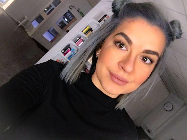 Min nya grå hårfärg