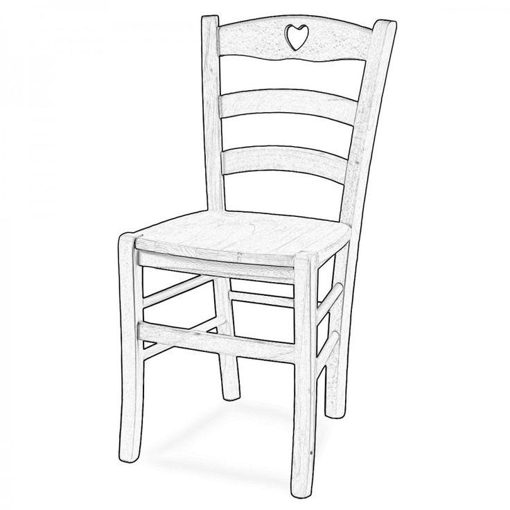 SHABBY CUORE. Shabby Cuore è una sedia in legno di faggio classica che si ispira alla sedia Venezia ma presenta un cuore nella parte alta dello schienale che la rende una sedia unica e moderna. La seduta è molto comoda e confortevole grazie anche allo schienale curvo e avvolgente.