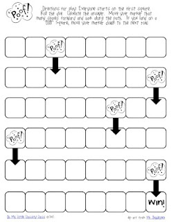 Fun game board that can be used to practice a variety of math skills/concepts.
