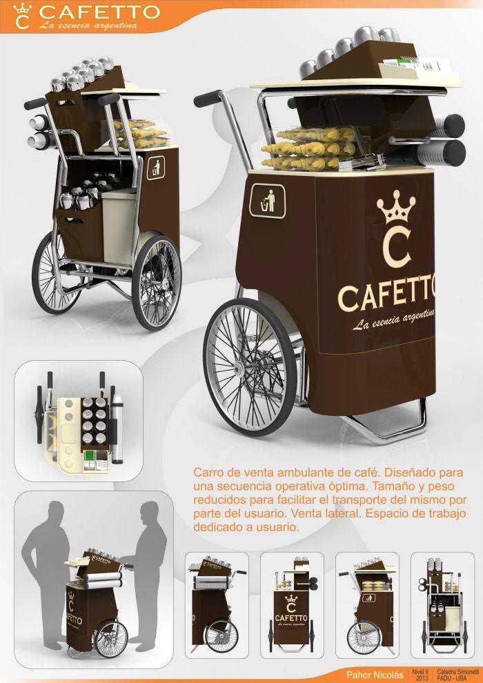 Cafetto - Puesto de Venta Ambulante de Café by Nicolás Pahor at Coroflot.com
