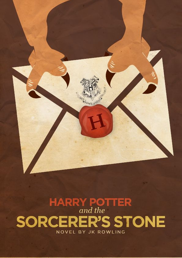Harry Potter and the Sorcerer's Stone: Harrypotter, Movie Poster, Book, Potter Poster, Harry Potter, Minimalist Poster, Stones