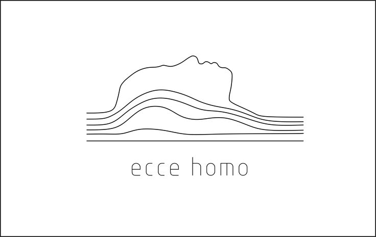 #human #profile #mountain
