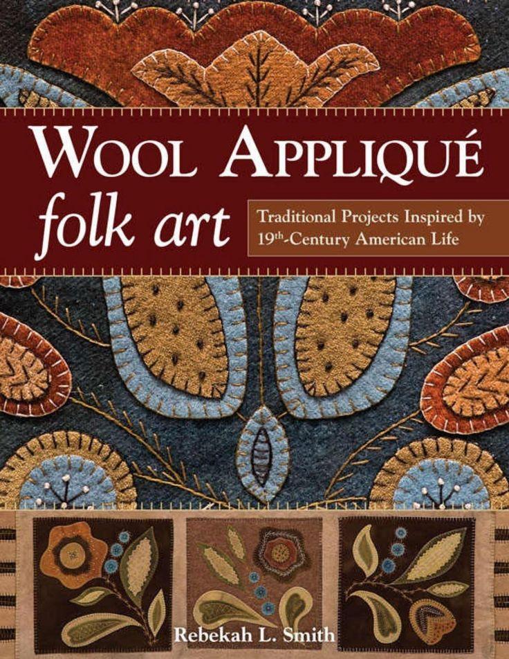 Wool applique folk art by brc - issuu