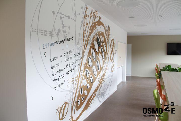 16 best Décoration Murale de l\'ISCOM à Lyon images on Pinterest ...