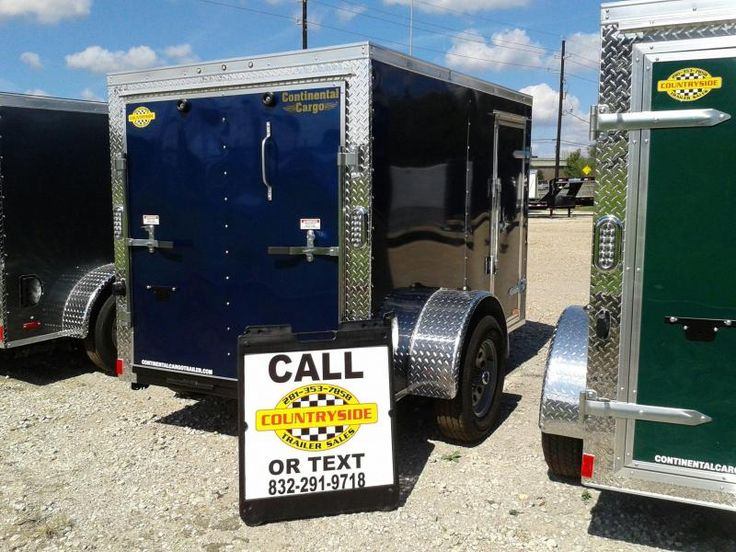 2017 Continental Cargo 5 X 8 SINGLE AXLE Enclosed Cargo Trailer | Countryside Trailer Sales -Trailers For Sale Trailers for Rent Trailer Repair service Storage Facility Trailer Dealer Spring Texas Dealer Flatbed, Gooseneck, Utility, Dump, Cargo, and Specialty
