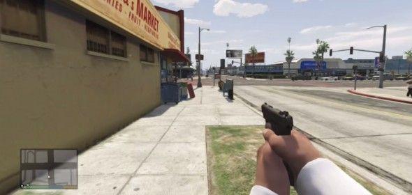 Mod transforma GTA V em jogo de tiro em primeira pessoa