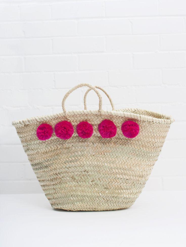 Market Pom Pom Baskets