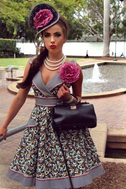 Tea Party Collar Dress (Black)