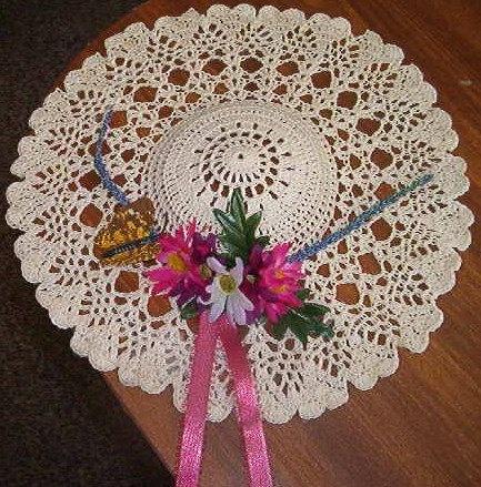 A Touch of Victorian Wall Decor PDF Crochet Pattern by dansbrat, $4.25