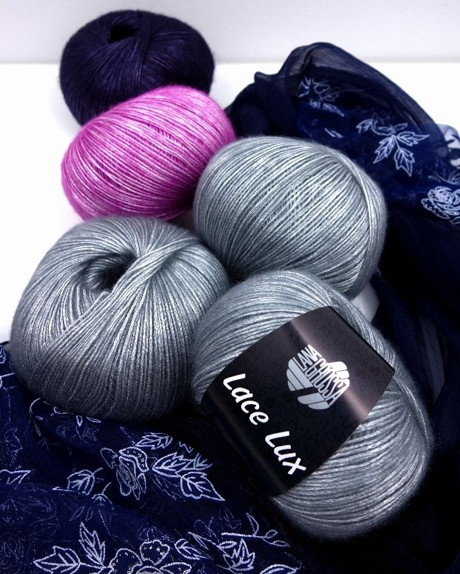 Lace Lux von Lana Grossa; foto: wloczka-cafe.pl