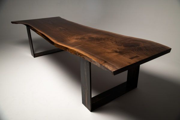 Live Edge American Black Walnut Dining Table By Camdesigncompany
