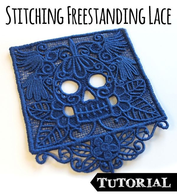 Tips and tricks to get the best results of out of your freestanding machine embroidered lace. Troubleshooting for  those common problems that drive you nuts!