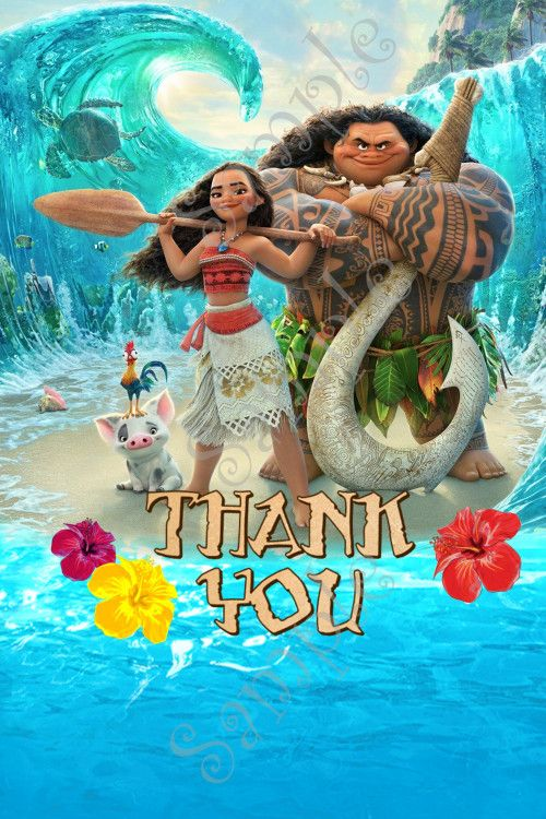 How To Set Animated Wallpaper Moana Invitation Disney Moana Birthday Party Invitation