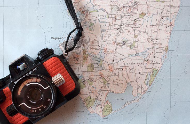 Exploring the coast of Langeland with the Nikonos V